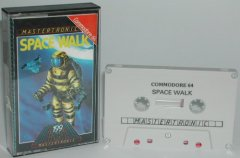 Commodore C64 game (cassette): Space Walk