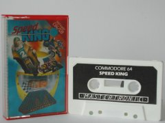 Commodore C64 game (cassette): Speed King