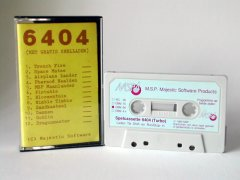 Commodore C64 game (cassette): Spelcassette 6404