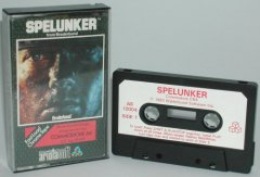 Commodore C64 game (cassette): Spelunker