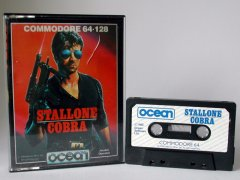 Commodore C64 game (cassette): Stallone Cobra