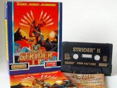 Commodore C64 game (cassette): Strider II