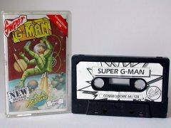 Commodore C64 game (cassette): Super G-Man