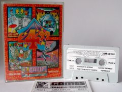 Commodore C64 game (cassette): Take 4 Games