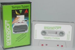 Commodore C64 game (cassette): Tempo Typen
