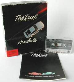 Commodore C64 game (cassette): Test Drive II - The Duel