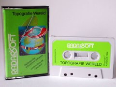 Commodore C64 game (cassette): Topografie Wereld