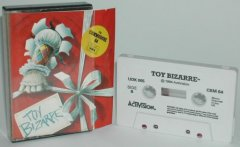 Commodore C64 game (cassette): Toy Bizarre