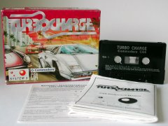 Commodore C64 game (cassette): Turbo Charge