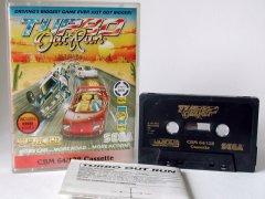 Commodore C64 game (cassette): Turbo Outrun