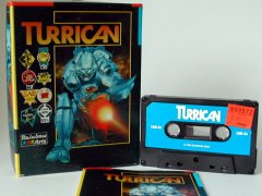 Commodore C64 game (cassette): Turrican