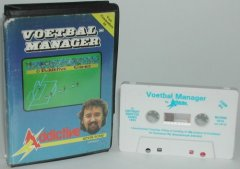 Commodore C64 game (cassette): Voetbal Manager