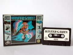 Commodore C64 game (cassette): Winter Games