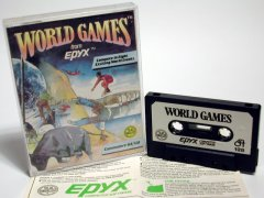 Commodore C64 game (cassette): World Games