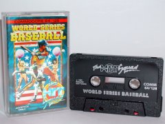 Commodore C64 game (cassette): World Series Baseball