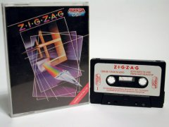 Commodore C64 game (cassette): Zig Zag