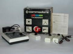 The Commodore 3000H with original packaging, manual and power supply.