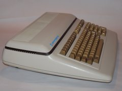 Side-view of the Commodore 610.