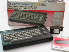 Commodore C16, English and Italian version.