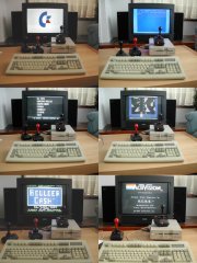 Playing games on the C64-DTV.