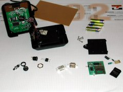 Parts to hack the C64-DTV.
