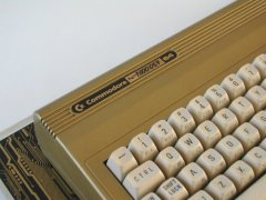 The serial number of the golden Commodore 64. (1.000.0037)