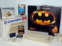 Commodore C64c - Batman