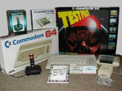 Commodore C64c - Testpilot