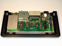 The inside of the Commodore Max Machine.