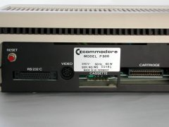 Serial number of the Commodore P500.