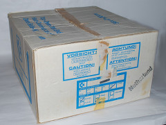 The box of the Commodore PC 10-III computer.