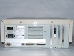Rear view of the Commodore PC 30-III computer.