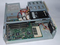 Inside of the Commodore 386SX-25 computer.