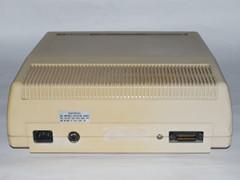 Achterzijde van de Commodore 8250 LP disk drive.
