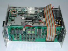 The inside of the Micro Power 2000.