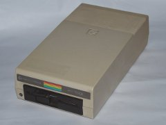 The Commodore SFD-1001 disk drive.