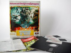 Commodore C64 game (disk): Advanced Dungeons and Dragons