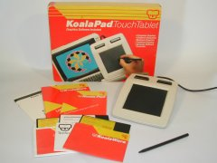 KoalaPad with manuals, software, stylus and original packaging.