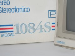 The Commodore 1084S monitor with original packaging.