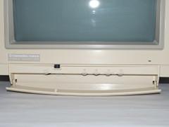 De 1085S-D2 monitor instelknoppen.