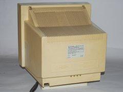 De achterzijde van de Commodore 1405 monitor.