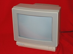 Front view of the 1802D monitor.