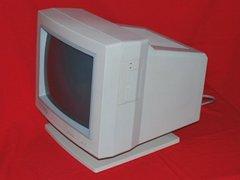 Rechterkant van de Commodore 1950 monitor.