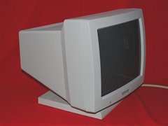 Side view of the A2024 monitor.