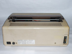 Rear view of the Commodore MPP 1361 printer.