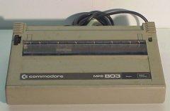 Commodore MPS 803 (brown)
