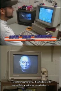 A Commodore Amiga 2000 computer and a 2002 monitor in The making of Babylon 5.