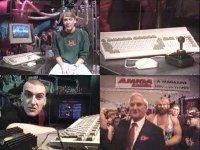 A Commodore Amiga 600 and Amiga 1200 in the TV-show Bad Influence!