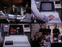 A Commodore PET 2001 in the TV-series Buck rogers.