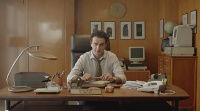 A Commodore PC 10-III and a Amiga 600 computer in the TV commercial for Cosmote Business.